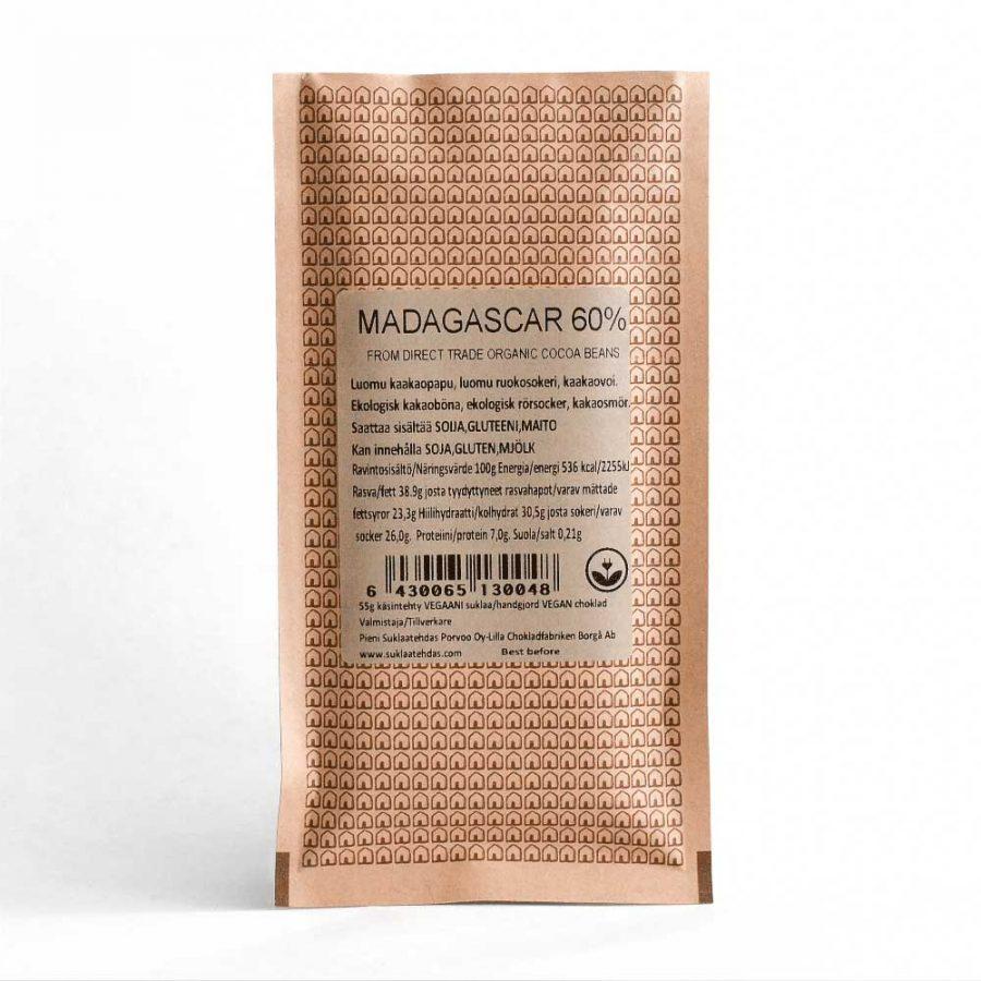 Madagascar suklaa 60%